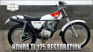 Honda TL 125 K2 Barn Find Full Restoration E6