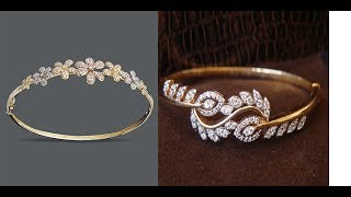 Latest Gold Diamond Bracelet Designs For Women