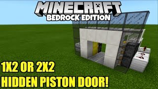 flush 2x2 piston door