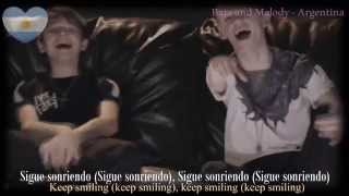 Bars and Melody (BAM) Keep Smiling - (Lyrics + Sub Español)
