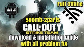 download call of duty strike team apk