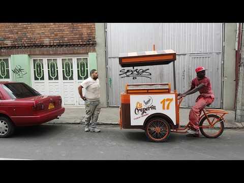 CARROS PARA COMIDAS RAPIDAS - TRICICLO CREPES - DAYRAESCULTOR