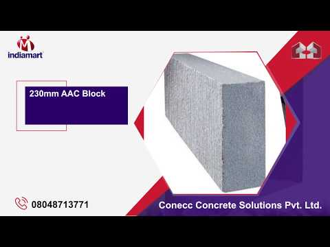 Manufacturer of AAC Blocks & M Sand by Conecc Concrete