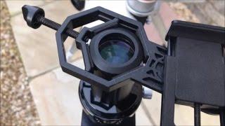 Jual adapter teropong mounting kamera teleskop microskop dan