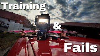 Sonntags Training & Crash Compilation | FPV Drohne