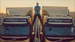 VAN DAMME - Real split between two trucks (HD) - Complete story