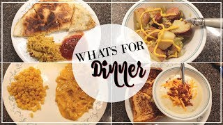 WHAT'S FOR DINNER | QUICK AFFORDABLE MEALS | THE WELDERS WIFE