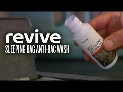 Trakker Revive Sleeping Bag Anti-Bac Wash -mosó és tisztító folyadék videó