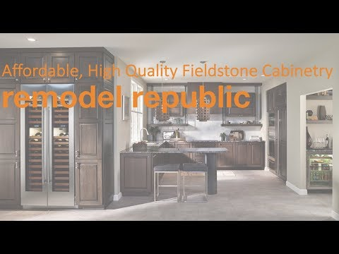 Affordable, High Quality Fieldstone Cabinetry at Remodel Republic