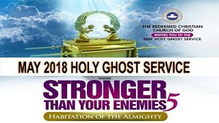 Holy Ghost Service May 2018