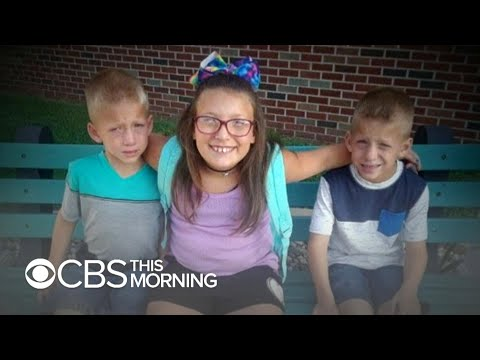 Twin boys and 9-year-old sister fatally struck in Indiana bus stop crash