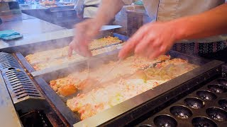 "The art of takoyaki making! ""Gindaco"" god's skill in japan! [Craftsmanship 2020]"