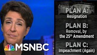 Trump Fear Of Prison Could Push Him Toward Resignation And A Pence Pardon | Rachel Maddow | MSNBC