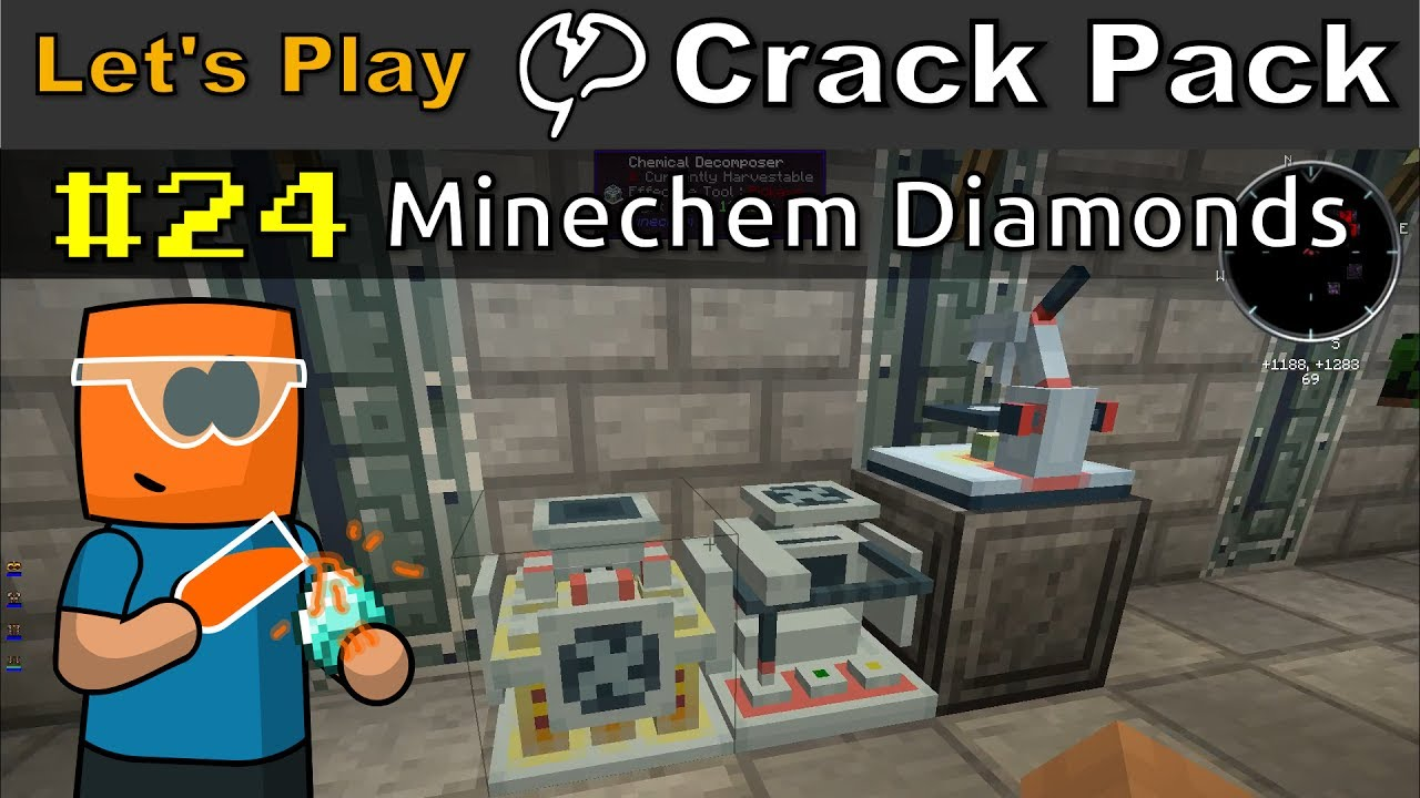 Minecraft - CrackPack #24 | Minechem Diamonds