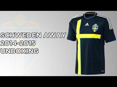 SCHWEDEN 2014-2015 Away Trikot Unboxing | ATFootball