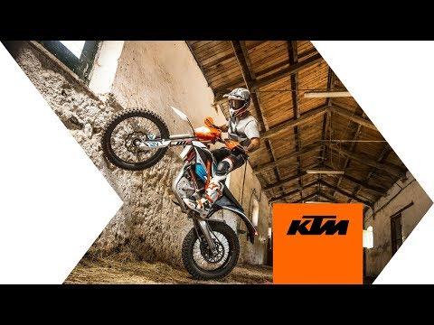 La KTM freeride E  2018 en action