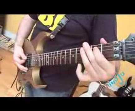 Guitarist plays Enter Sandman by Metallica