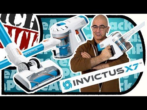INViCTUS X7 - Der Sauger aus dem ALL - Akku Staubsauger Unboxing + Ersteindruck