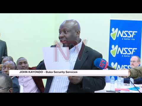 IGP orders security firms to pay NSSF contributions