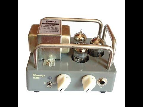 Wangs VT-1H amp review. A tiny 1-watt beast