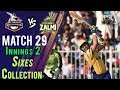 watch Peshawar ZalmiSixes   Peshawar Zalmi Vs lahore Qalandars  Match 29   16 March   HBL PSL 2018