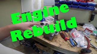 2011 Honda CRF250R Top End Engine Rebuild DIY