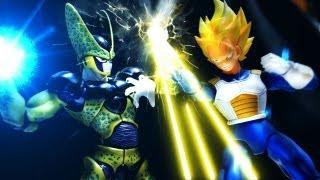 vidéo Dragon Ball Z Stop Motion - Cell's return ?????-????