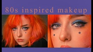 80s/bowie inspired makeup