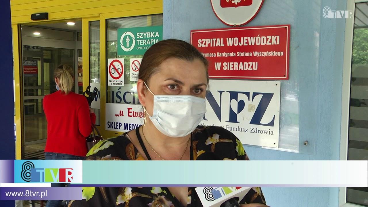 Sytuacja epidemiologiczna w Szpitalu Wojewódzkim w Sieradzu