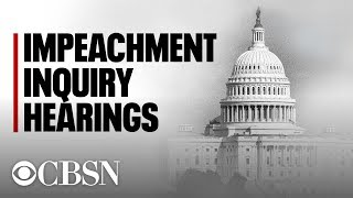 House Judiciary Committee holds second impeachment hearing, live stream