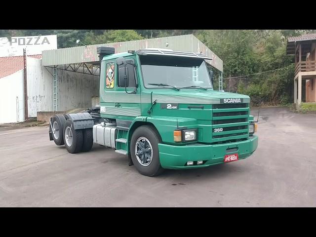 Vídeo do caminhão T112 HW 360 6x2