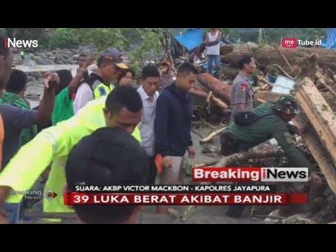 Banjir Bandang Melanda Sentani, Jayapura, 63 Orang Meninggal - Breaking iNews 17/03