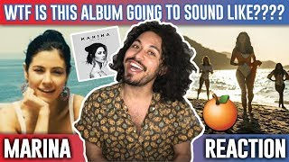 MARINA - Orange Trees [Official Music Video] | REACTION |