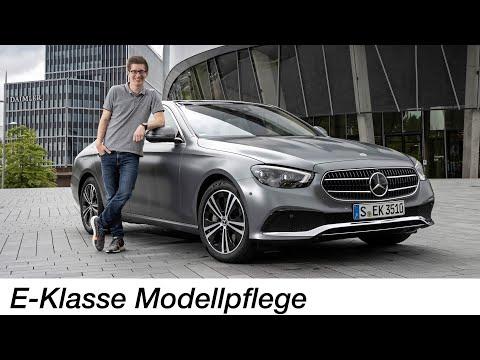 Der geniale M254-Vierzylinder-Motor: Mercedes-Benz E 350 (W213 MoPf) Test  - Autophorie
