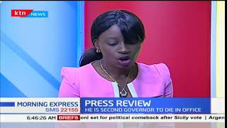 Petitioners fault IEBC ignoring Raila exit, Press Review