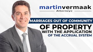 Marriage Out of Community of Property With the Application Of The Accrual S