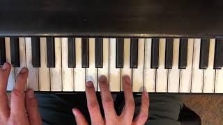 Desperado (Eagles) Piano Lesson