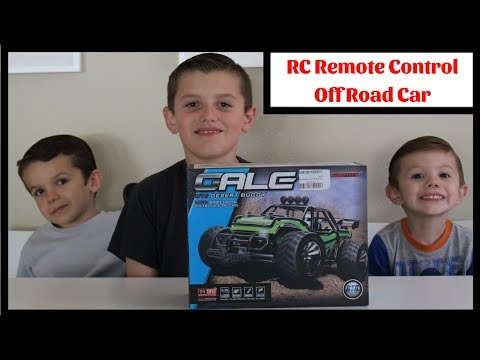 Sgile RC Remote Control Car Off Road Car 1:16 Review and Unboxing
