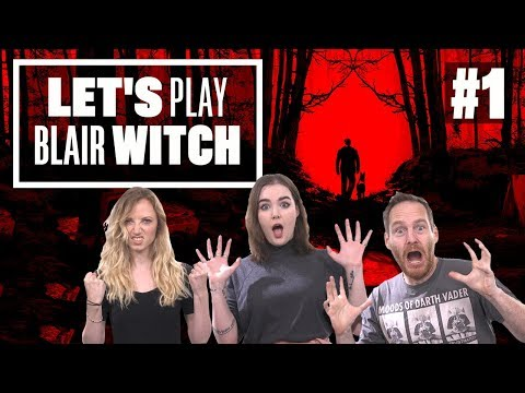 Let's Play Blair Witch Gameplay – PROTECT THE DOG AT ALL COSTS!