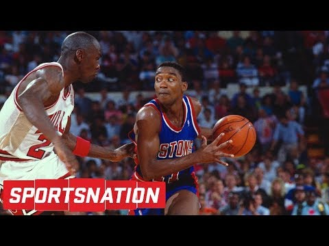 Isiah Thomas says LeBron James is better than Michael Jordan | SportsNation | ESPN