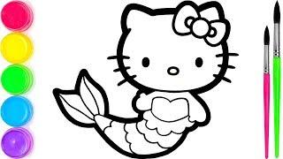 Hello Kitty I 2# Menggambar dan Mewarnai untuk Anak-anak