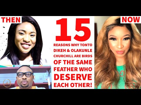 Tonto Dikeh & Her Ex Olakunle Churchill Are Birds Of The Same Feather & 15 Reasons Why!