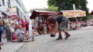 preview picture of video 'Tkanina mesta ANA DESETNICA v Sežani'