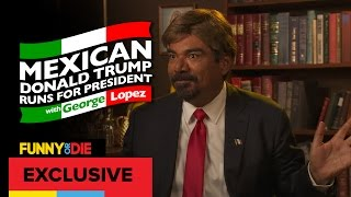 Mexican Donald Trump with George Lopez