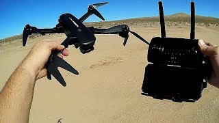 Hubsan Zino Pro Long Range FPV Camera Drone Flight Test Review