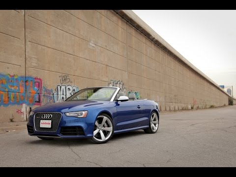 2015 Audi RS5 Cabriolet Review - Quick Take