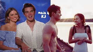Kj Apa & Maia Mitchell Being Hella Cute For Two Minutes