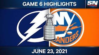 NHL Game Highlights | Lightning vs. Islanders, Game 6 - Jun. 23, 2021