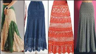 Gorgeous And Elegant Crochet /Qureshia Long Skirts Patterns