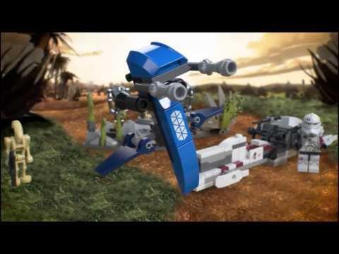Vidéo LEGO Star Wars 75037 :  La bataille de Saleucami